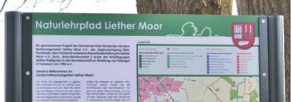 Ganz nebenbei etwas Neues lernen im Liether Moor!