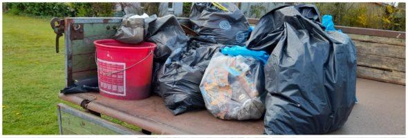 Müll-Sammel-Aktion 2021 der Wählergemeinschaft
